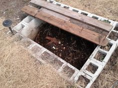 How To Build A Simple In-Ground Worm Pit  - https://www.facebook.com/RedWormComposting/posts/10153516245141051