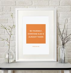 Are you interested in our personalised quote saying gift? With our framed poster print you need look no further.