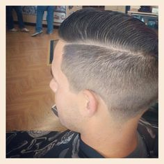Nice looking part with full length combed over the top.