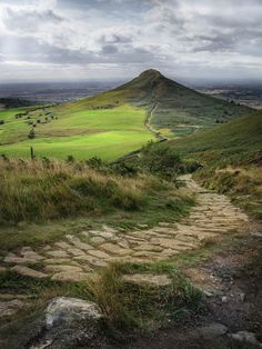 "wanderthewood: ""Roseberry Topping, North Yorkshire, England by adriantilbrook """