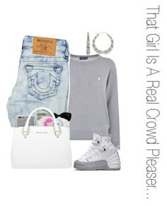 """""""Untitled #37"""" by serena-15 ❤ liked on Polyvore featuring Polo Ralph Lauren, True Religion, Agent 18, NIKE, Bamboo and Michael Kors"""