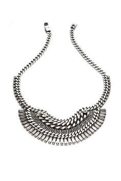 Dannijo Lillith necklace | Minimal + Chic | @CO DE + / F_ORM