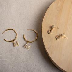 Real Diamond Earrings, Stud Earrings, Initial Earrings, Fine Girls, Ethical Fashion, Personalized Jewelry, Glass Beads, Opal, Fine Jewelry