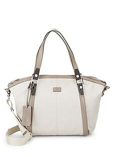 TOD'S CANVAS SHOULDER BAG. #tods #bags #shoulder bags #hand bags #canvas #