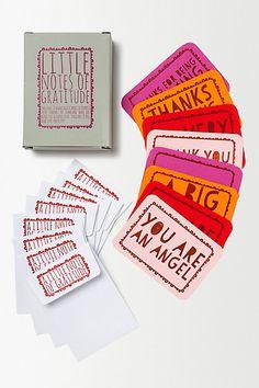 Notes of Gratitude #anthropologie