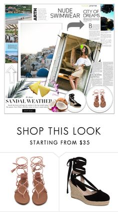 """Summer fantasy"" by maiah-bee ❤ liked on Polyvore featuring Topshop"
