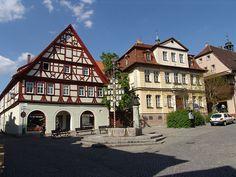 Bad Windsheim, Germany- birthplace of my girls.