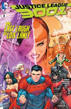 Weird Science: Justice League 3001 #3 Review