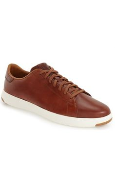Cole Haan 'GrandPro' Tennis Sneaker (Men) available at #Nordstrom  Blazer Blue not tan