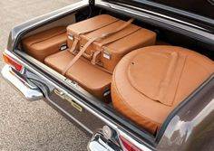 """489 Likes, 4 Comments - The Mercedes-Benz Club (@themercedesbenzclub) on Instagram: """"The only way to travel. Stylish custom-fit leather luggage stored in a lovely W113 Pagoda . . .…"""""""