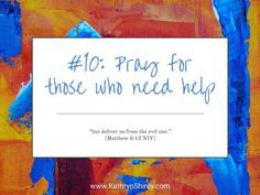 Prayer lesson Pray for others who need help - Stand in the gap and pray on their behalf for God to step in and fight back the enemy. Teaching On Prayer, Learning To Pray, Prayer List, Prayer For You, Praying For Others, Thy Kingdom Come, Short Prayers, Online Prayer, Prays The Lord