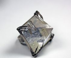 the crystal tomb ring by BloodMilk on Etsy