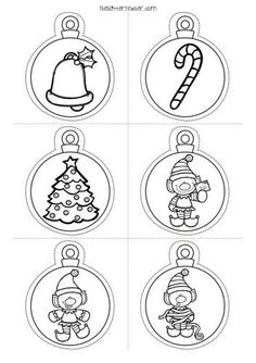 New Post christmas ornaments drawings interesting visit xmast. Printable Christmas Ornaments, Candy Christmas Decorations, Christmas Templates, Christmas Tag, Christmas Colors, Christmas Baubles, Christmas Activities, Christmas Crafts For Kids, Holiday Crafts