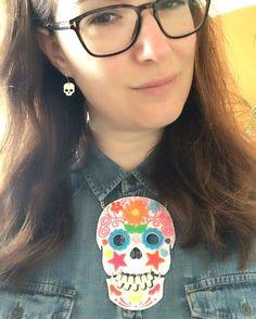 Super skull Sunday! @tattydevine sample sale haul part 7.  #tattydevine #mytattydevine #tdsamplesale #skull #candyskull #sugarskull #Norwich #Norfolk by bellestarblue - Pinned by @FancyAsMilly on instagram -