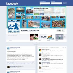 Surfers for Autism Facebook page