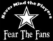 New Custom Screen Printed T-shirt Dallas Cowboys Never Mind The
