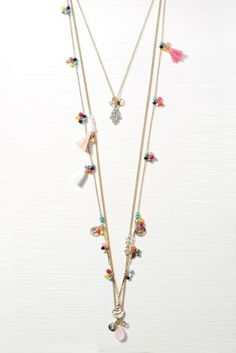 Buy Three Layer Necklace from the Next UK online shop