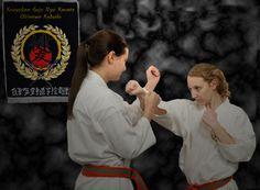 Girls karate