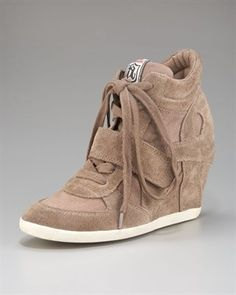 Ash wedge sneakers - the only ones I could see myself wearing.