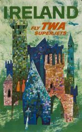 TRA00049 - Ireland, Fly TWA Superjets