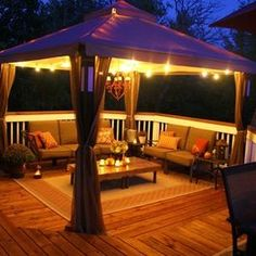 Patio Gazebo Design, Pictures, Remodel, Decor and Ideas - page 7