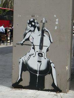 Artist: BANKSY #streetart