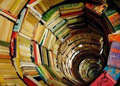 Books fall open   You fall in