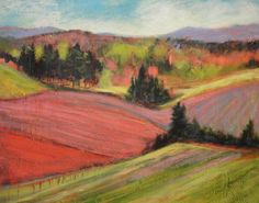 "Saatchi Art Artist Holly Friesen; Painting, ""A Breath of Spring"" #art"