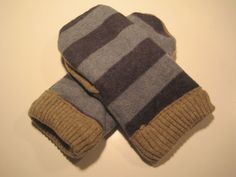 MMC0311 PawPaw Wool Mittens womens sm/med by MichMittensbyLauri, $23.00