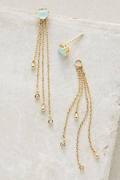 Sunshower Earrings - anthropologie.com #GoldEarrings