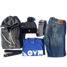 LNL FULL-ZIP HOODIE, LNL KNIT BEANIE, LOVE IS ALL YOU NEED TEE www.LivinLifeCo.com #LivinLifeCo #Levis