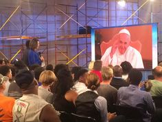 It was an HONOR and such a humble experience this morning with our Holy Father Pope Francis. To receive his blessings has made a change in my life. Thank you ABC 7. This was LIVE!