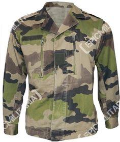 b6a8c81de Original French Army CCE Camo Jacket Army Surplus Jacket, Army Navy  Surplus, Camo Jacket