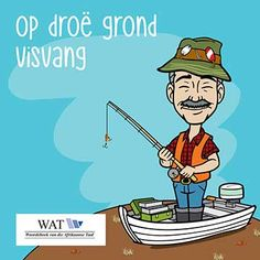 Idioom-vang-vis Afrikaans, Idioms, South Africa, Slim, Learning, Words, Character, Studying, Teaching
