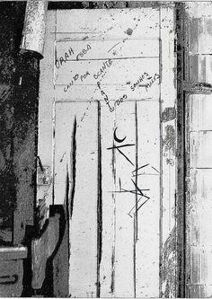 Inserção-1. 1976. Porta de banheiro em bar na Praça Roosevelt. São Paulo - SP.