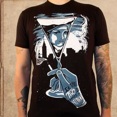 the Great Gatsby - discharge ink - unisex