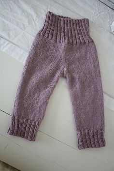 """Ravelry: Project Gallery for b18-19 Pants in 2 threads """"Fabel"""" pattern by DROPS design"""