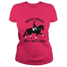 Broke Horses Dont Give A Buck English
