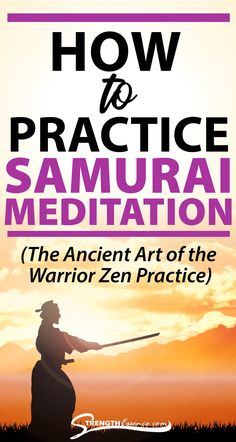 SAMURAI MEDITATION was practiced by these elite 12th century warriors. Learn how to undertake a Zen meditation practice like a Samurai Warrior! #samuraimeditation #meditationsamurai #samuraizenmeditation #traditionalsamuraimeditationtechnique #whatissamuraimeditation Kundalini Meditation, Meditation For Anxiety, Types Of Meditation, Meditation Crystals, Meditation For Beginners, Meditation Benefits, Meditation Techniques, Meditation Quotes, Healing Meditation