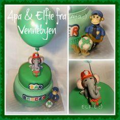 City of Friends Cake / Vennebyen kake