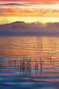 Racquette Lake at dawn (Adirondacks, NY) by Jaynes Gallery / Nancy Rotenberg