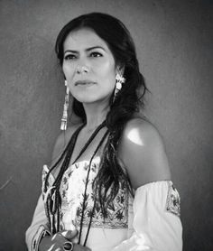 American singer songwriter, guitarist, actress, humanitarian and politician activist,born in Oaxaca. She performs her own compositions as well as popular and indigenous Mexican music. Native American Women, American Indians, Beautiful People, Most Beautiful, Beautiful Women, Mexican Art, Chicano, American Singers, Belle Photo