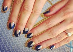 Latest nail art designs for women, Get ready for some manicure magic as we bring you the hottest nail designs from celebrities nail designs. Fabulous Nails, Gorgeous Nails, Love Nails, How To Do Nails, Fun Nails, Happy Nails, Glam Nails, Beauty Nails, Chic Nails
