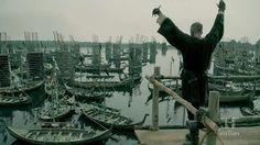 Floki (Gustaf Skarsgard) prepares for battle in Episode 8 (entitled To The Gates!) Season 3 of History Channel's Vikings