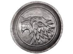 House Stark shield pin!  Neat!