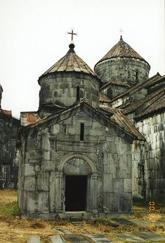 The Monastery ruins of Haghpat and Sanahin, Armenia in the Lori province of Armenia. http://en.wikipedia.org/wiki/Haghpat_Monastery