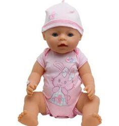 新しいファッション人形アクセサリー、レジャージャンプスーツ人形服着用フィット43センチbaby bornツァップ