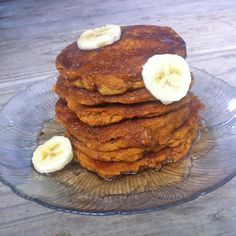 A hearty pancake full of natural sweetness and lovely fall flavors made with coconut oil and coconut flour.