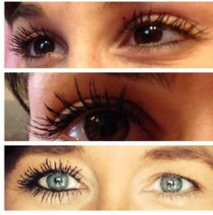 Top: ME with 1 coat of 3D Fiber Mascara. Middle: My sister with 1 coat of 3D Fiber Mascara Bottom: 2 coats...and ALL fabulous! to learn more, check out: www.youniqueproducts.com/christinad