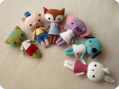 pocket pets by Gingermelon, via Flickr